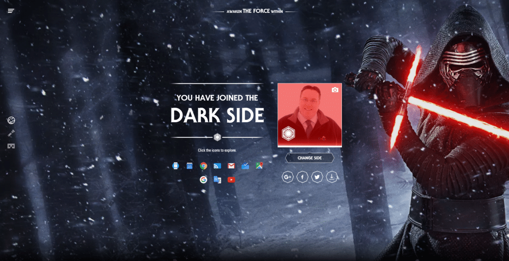 You Have Joined The Dark Side